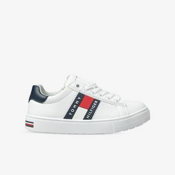 Tommy Flag Low Cut Lace Sneaker