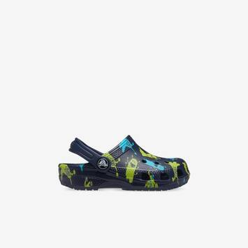 Classic Clogs Monster Print