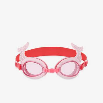 Mermaid Shaped Swimming Goggles 3-9