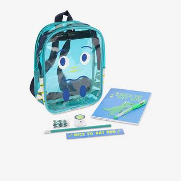 Dino Kids Stationery Mini Backpack