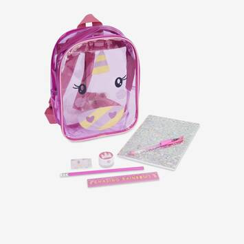 Unicorn Kids Stationery Mini Backpack