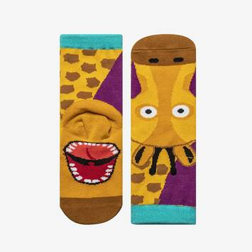 Animal Puppet Sock - Giraffe