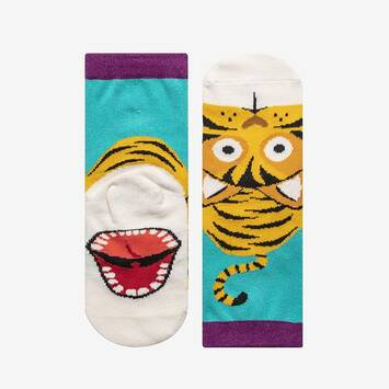 Animal Puppet Sock - Tiger