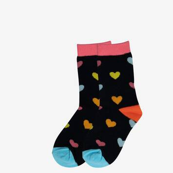Love Heart Crew Sock