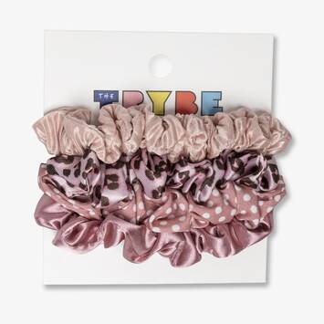Mini Scrunchies: 4 Pack