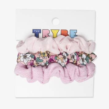 Mini Scrunchies: 3 Pack