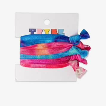 5 Pack Tie Dye Hair Ties