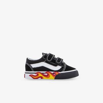 Flame Cutout Old Skool