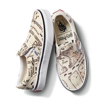 Harry Potter Marauders Map Classic Slip On