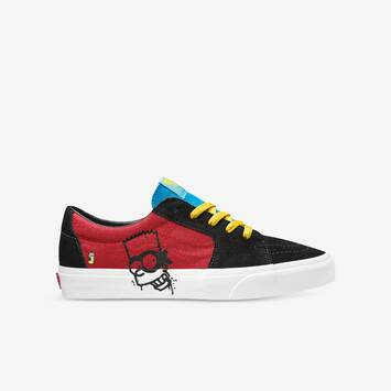 The Simpsons x Vans Kids Old Skool