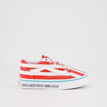 Old Skool (International Stripes) Vans X Where's Waldo?
