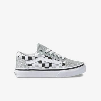 Old Skool Glitter Checkerboard