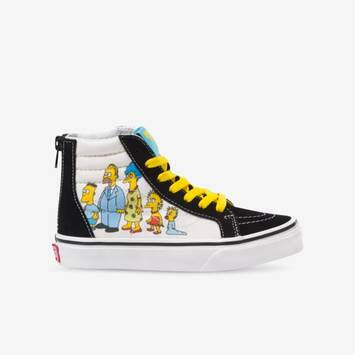 The Simpsons x Vans Kids Sk8-Hi Zip