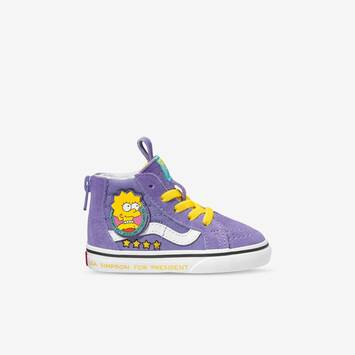 The Simpsons x Vans Toddler Sk8-Hi Zip